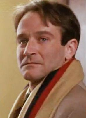 Robin Williams nei panni del prof. John Keating